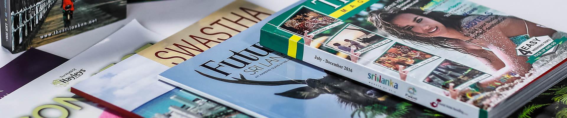 Magazines Printing in Sri Lanka | Gunaratne Offset +94 11 7627277